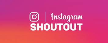 instagram shoutouts