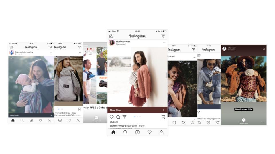 successful instagram ads